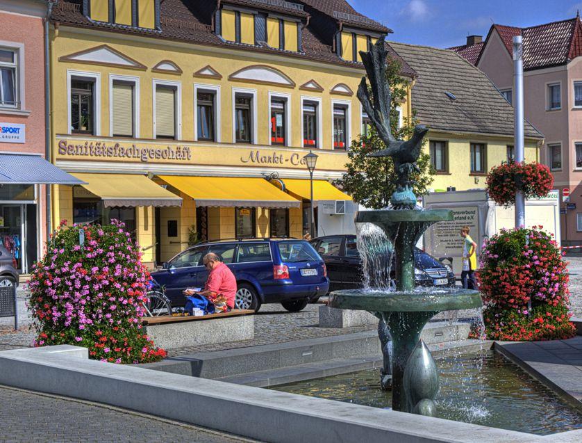 Der Elsterbrunnen