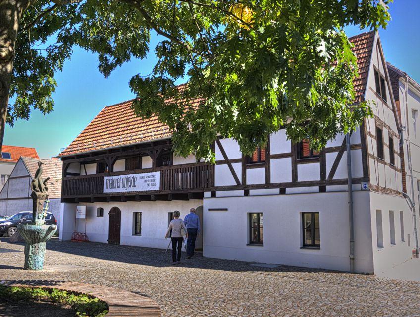 """Das Fachwerkhaus mit der Kleinen Galerie """"Hans Nadler"""""""