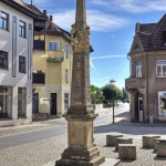 Postdistanzsäule in Elsterwerda