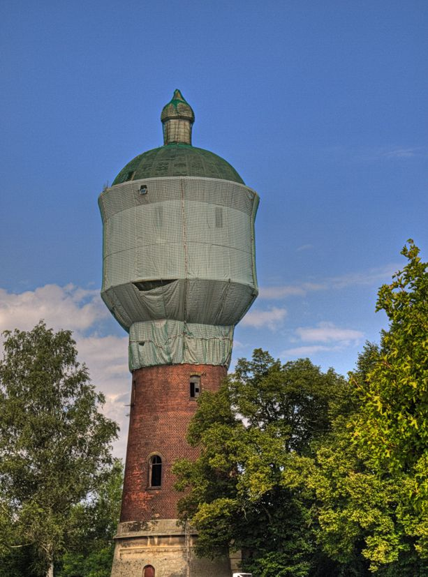 Der Wasserturm in Elsterwerda-Biehla