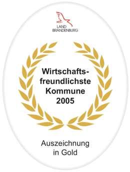 wirtschaftsfreundlichste Kommune 2005
