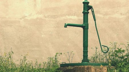 Pumpe Brunnen