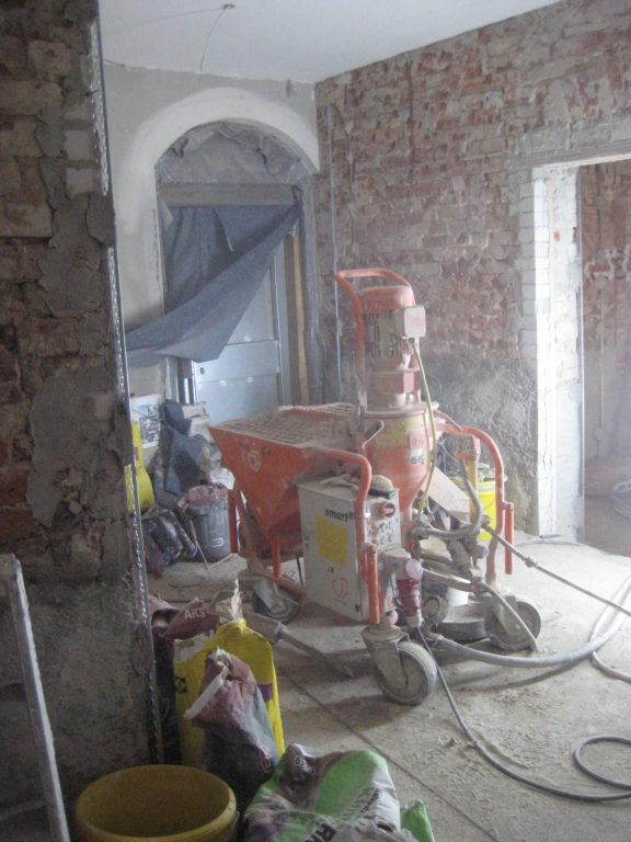 Bauarbeiten im Rathaus