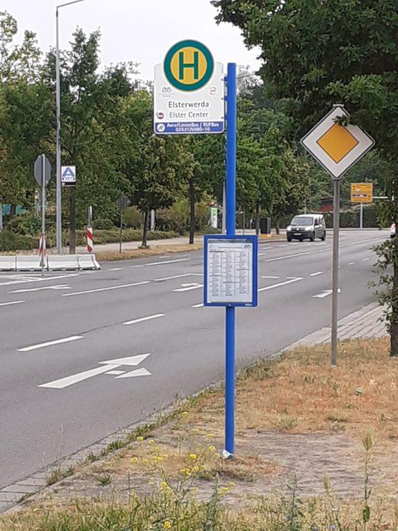 Bushaltestelle Zum Kalkberg (Elster Center) Elsterwerda