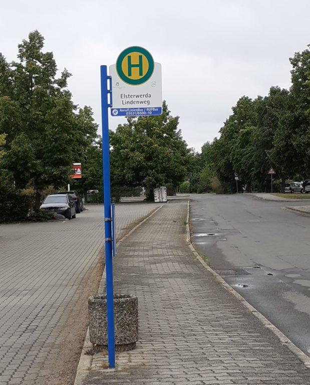Bushaltestelle Lindenweg Elsterwerda