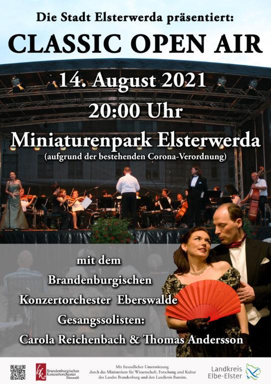 Plakat Classic Open Air 2021 Miniaturenpark