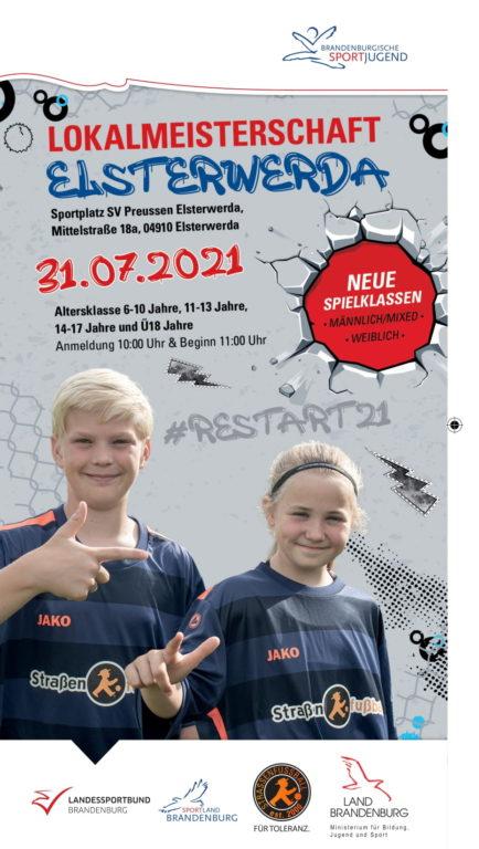 Brandenburgische-Straßenfußball-Lokalmeisterschaft Elsterwerda