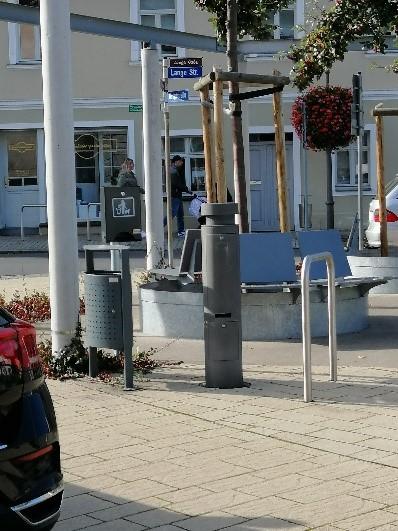 Hundetoilette Marktplatz Südspitze