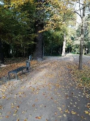 Hundetoilette Schlosspark