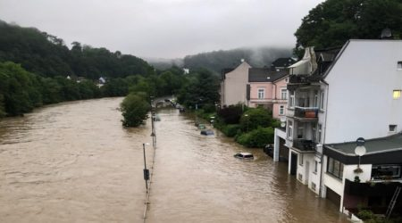 Eindrücke der Unwetterkatastrophe 2021 NRW