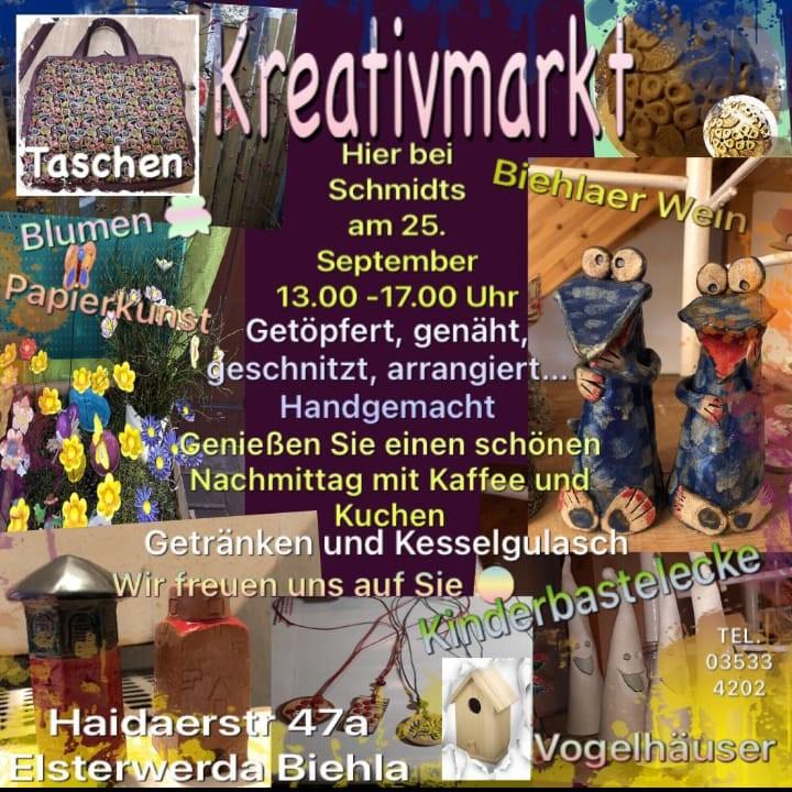 Kreativmarkt 25.09.2021