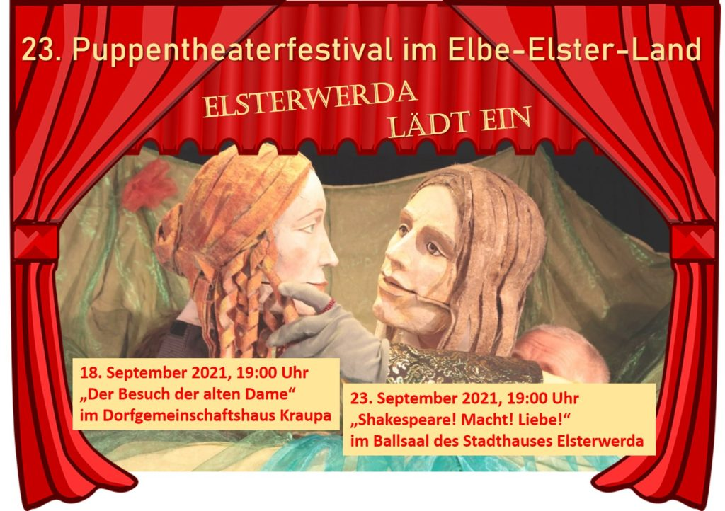 23. Puppentheaterfestival zu Gast in Elsterwerda